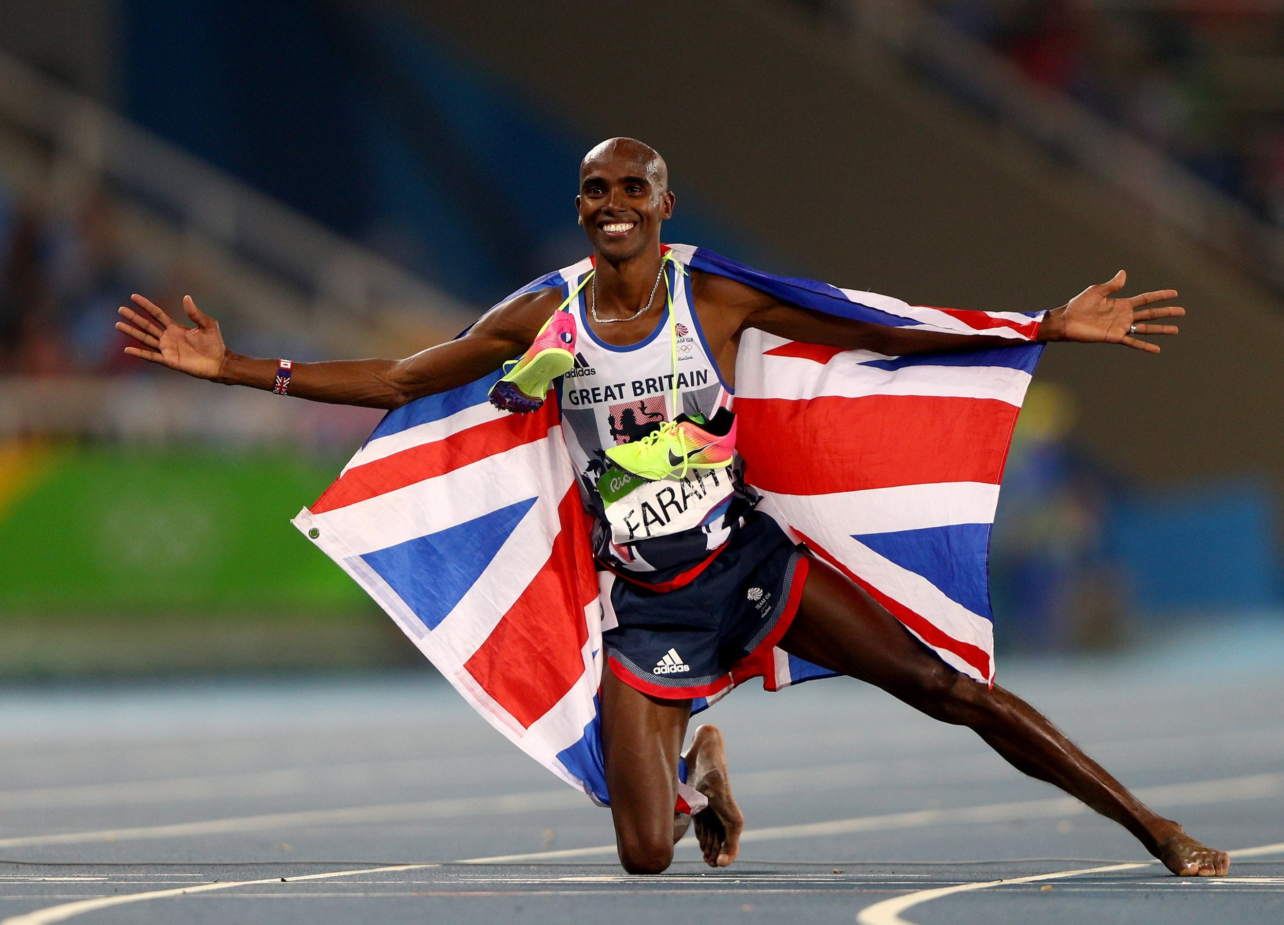 Mo Farah Tells Newsweek: Donald Trump Could Force Me Back to Britain