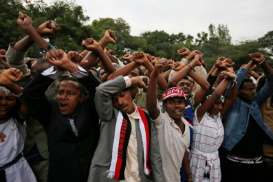 Oromo protests Irreecha