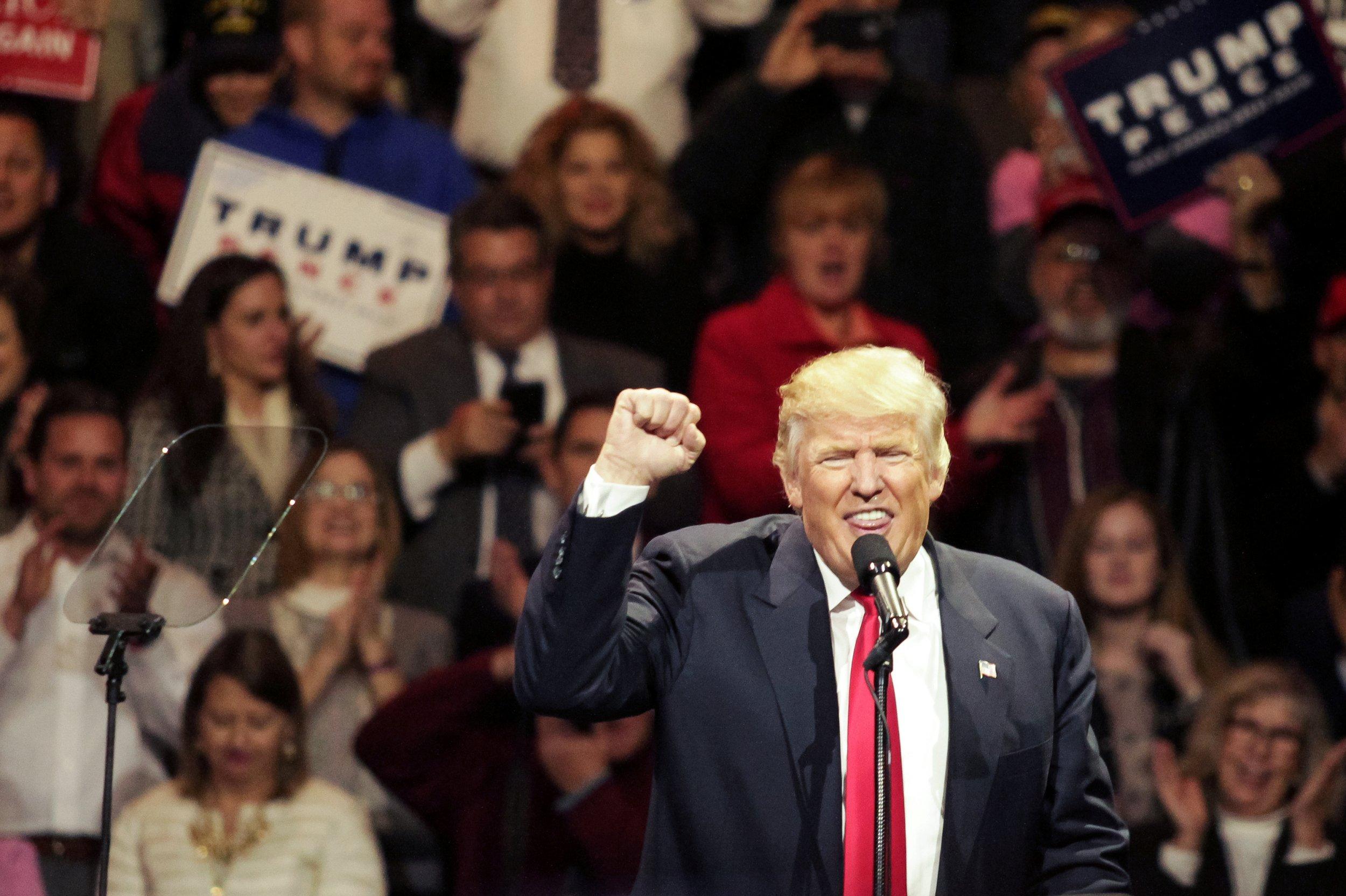 Trump on 'Thank You Tour'