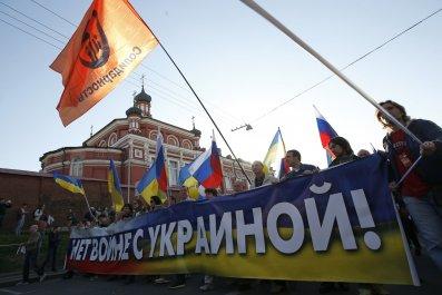 Ukraine Russia war protest