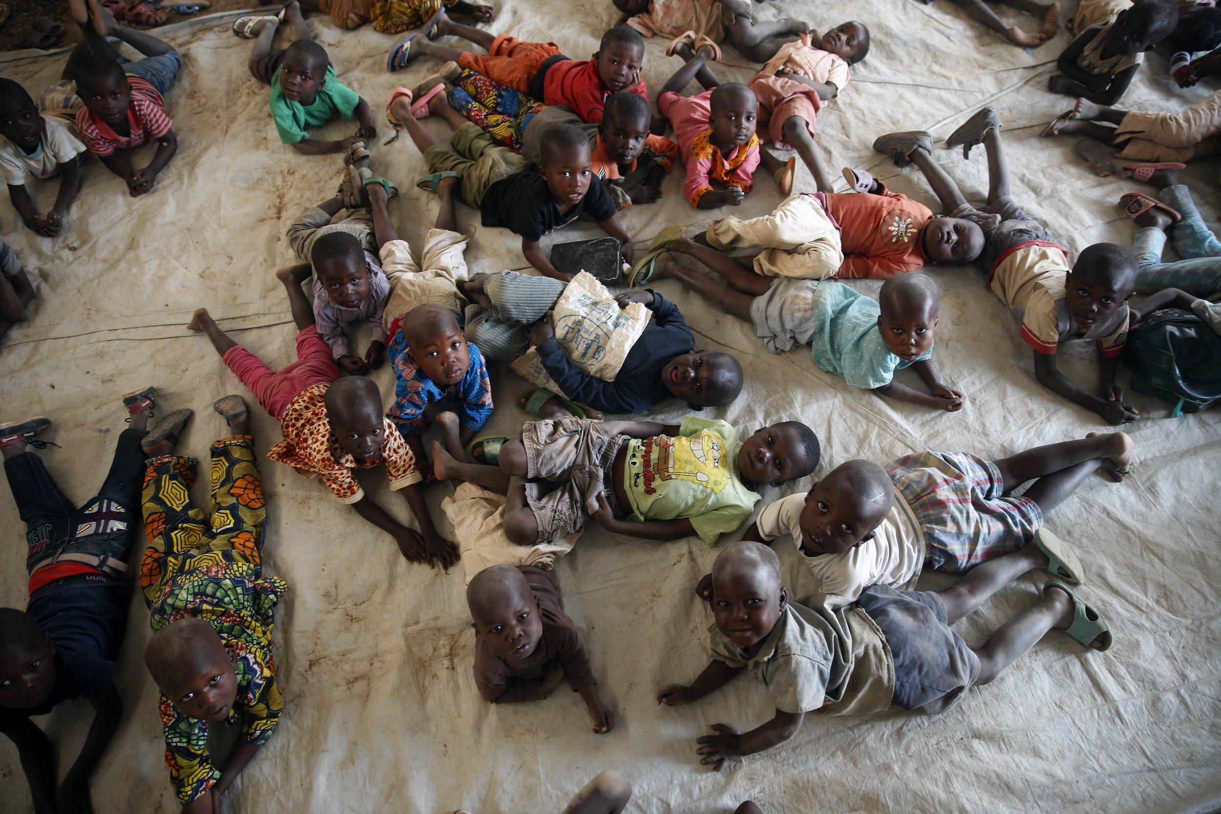 Inside the World of Bangui's Traumatized Street Children