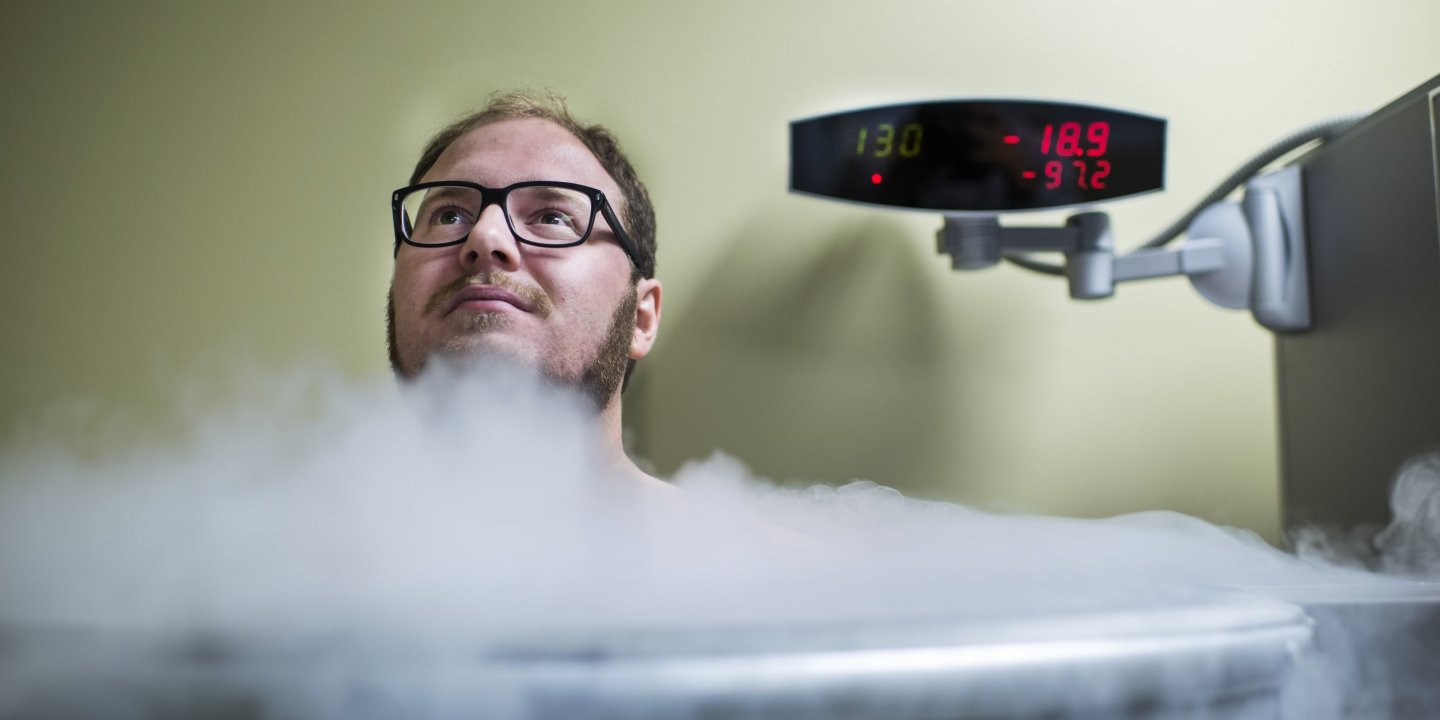 Cryotherapy: Post-Workout Exposure to Extreme Cold Lacks