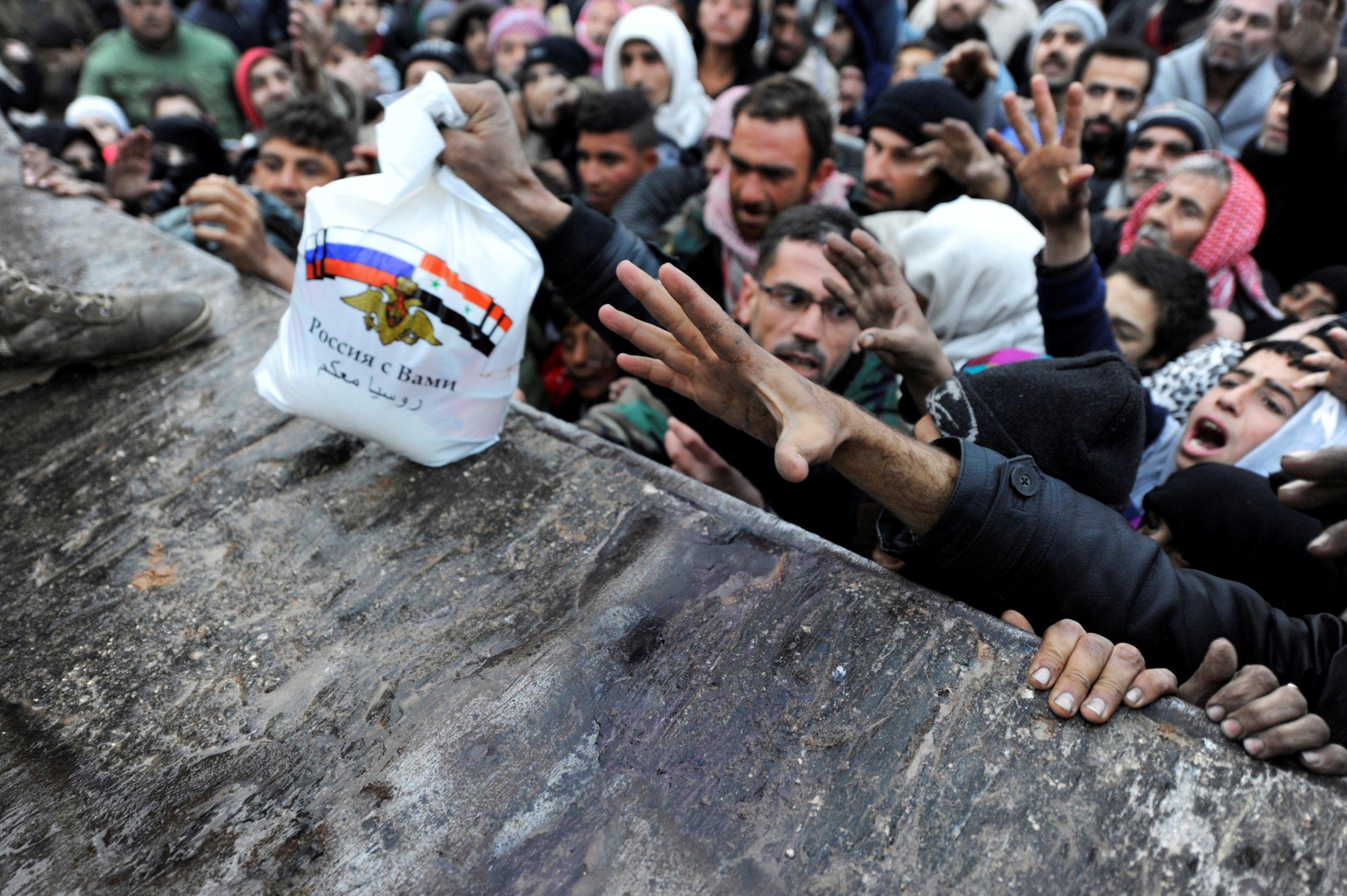 Syrian evacuees