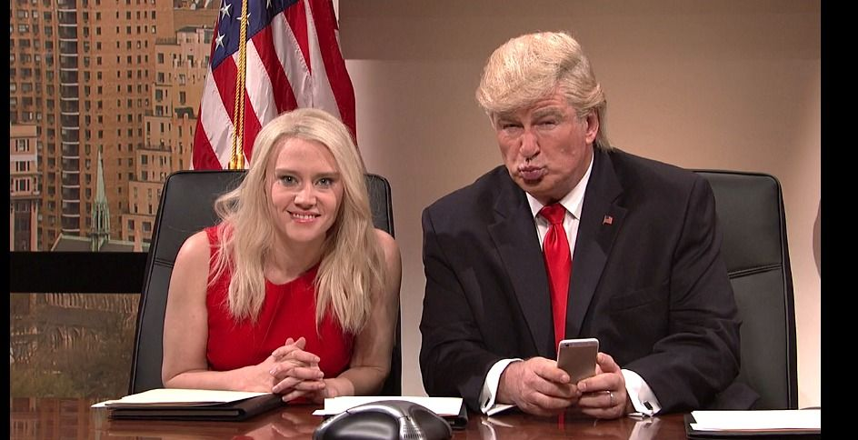 Image result for kellyanne conway donald trump snl""