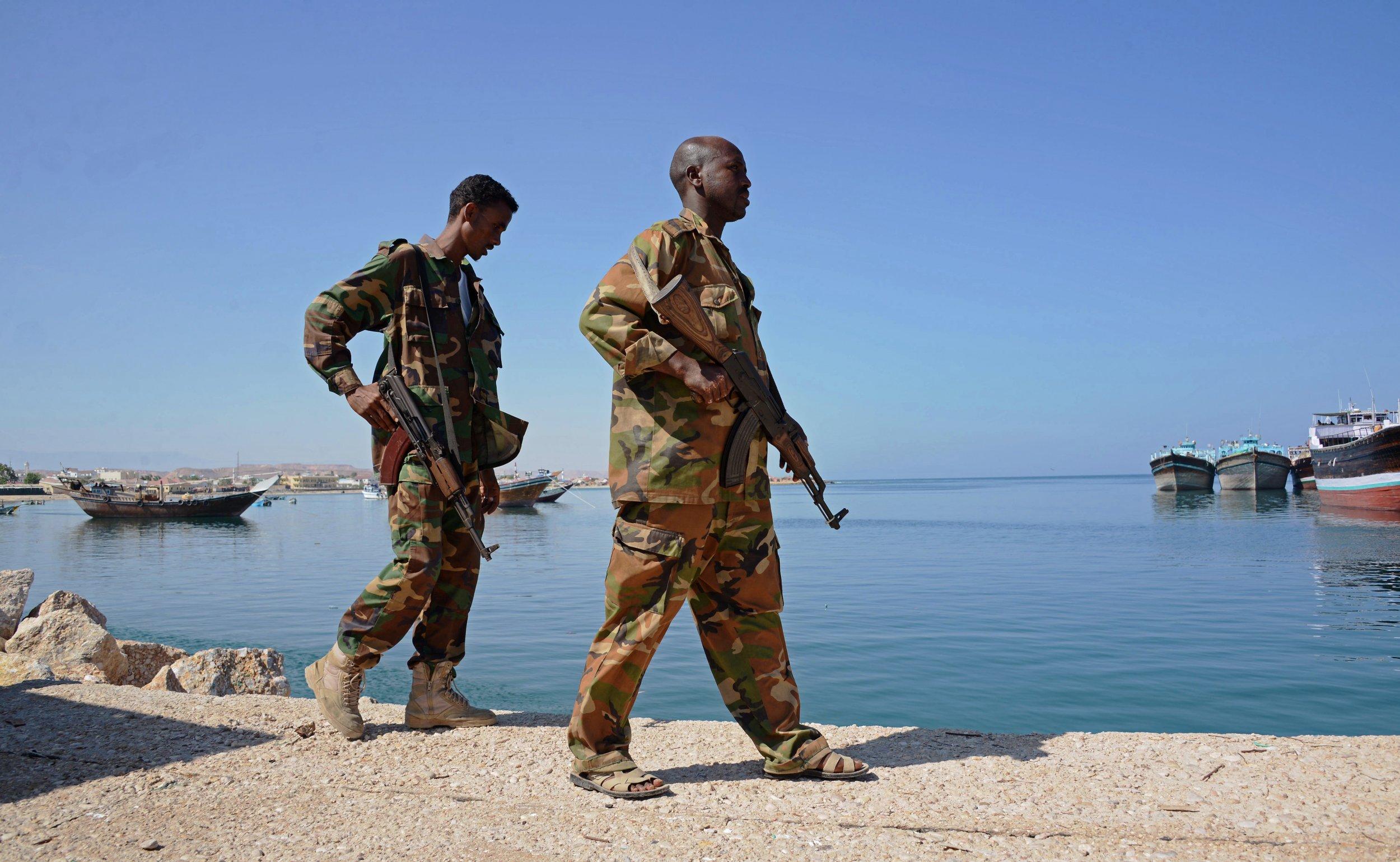 Puntland soldiers