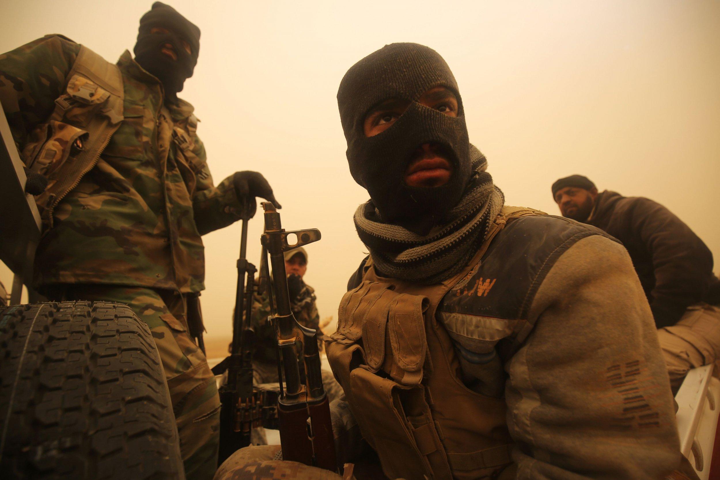Iraqi Shiite militiamen