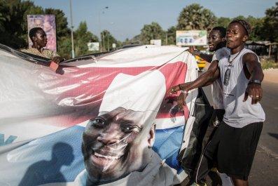 Yahya Jammeh flag