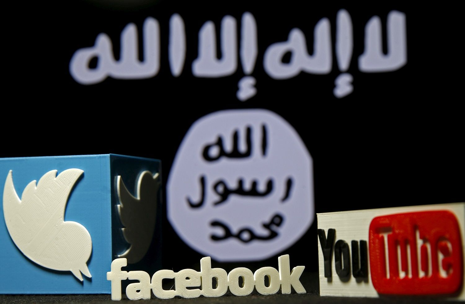 isis twitter facebook online database