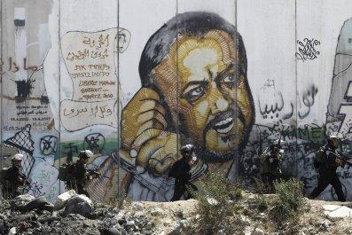 Marwan Barghouti mural