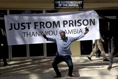 Gambia prisoners freed