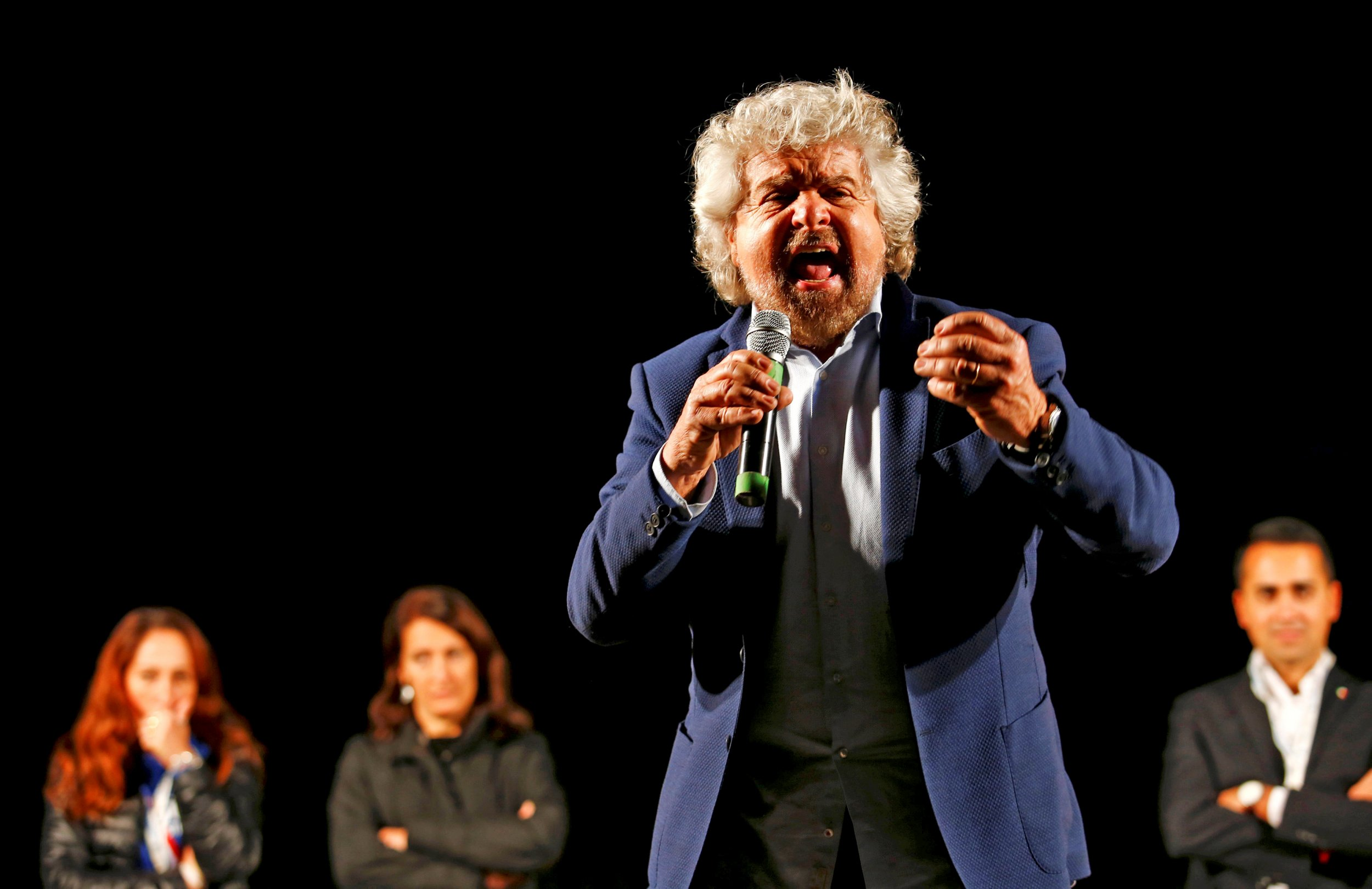 Beppe Grillo Speech