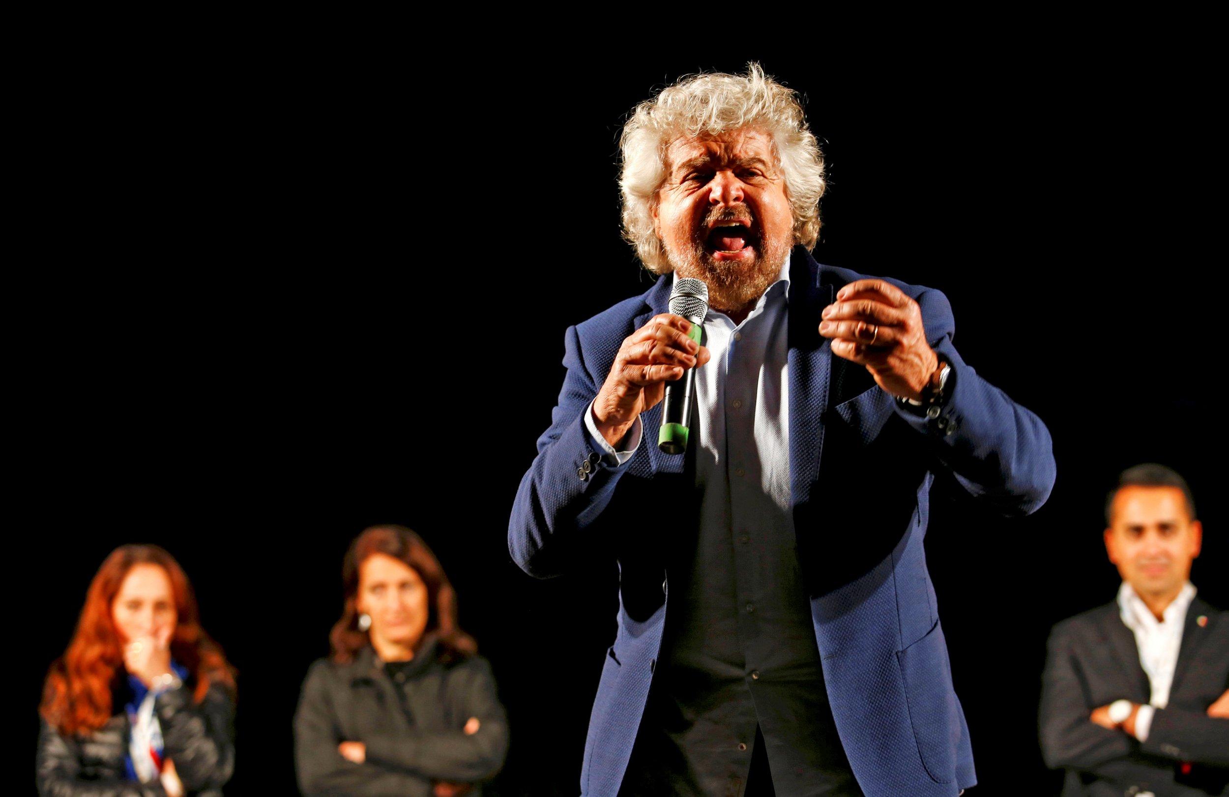 Beppe Grillo Speech