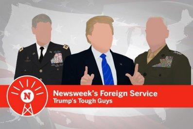 Donald Trump's generals podcast