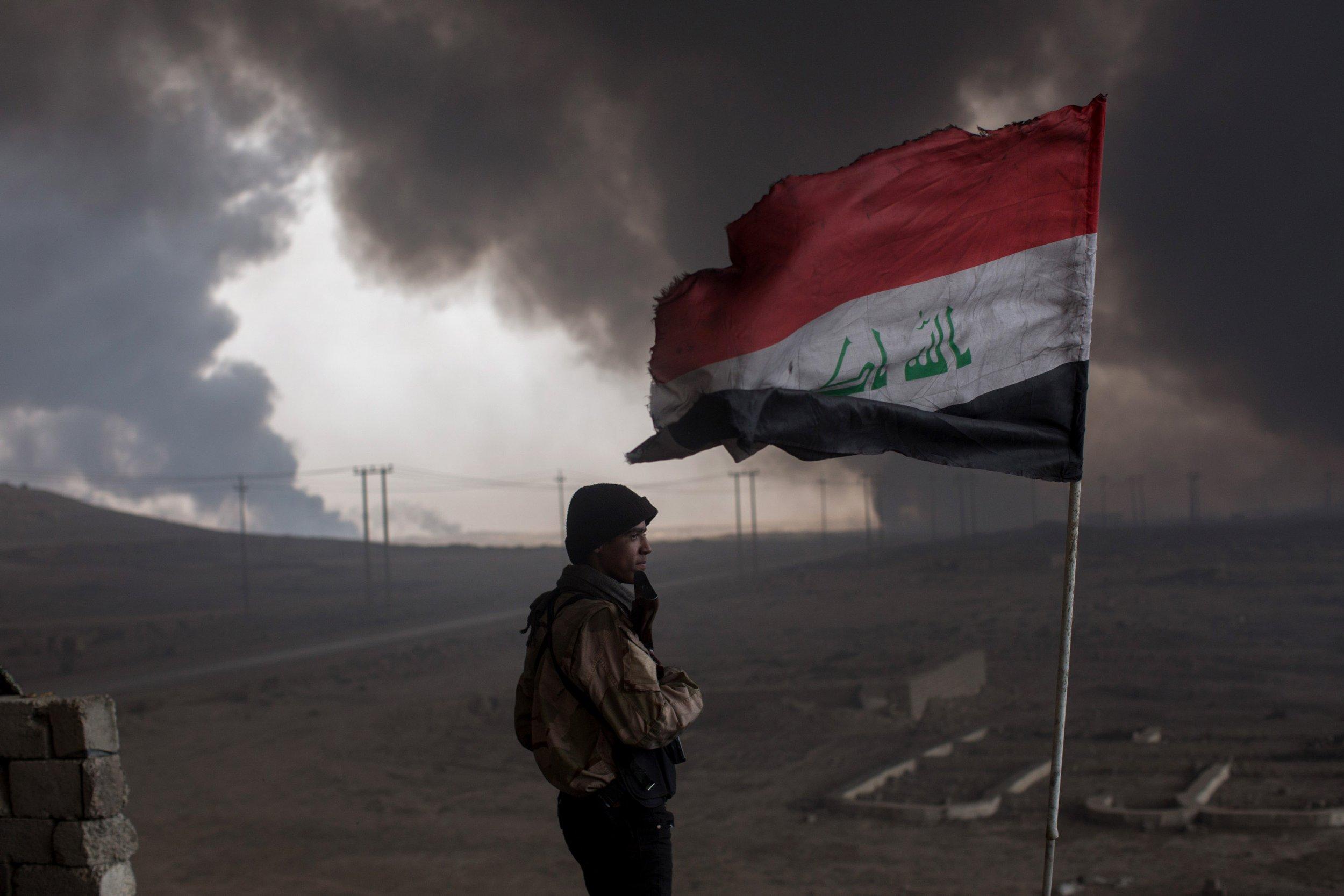 Iraqi in southern Mosul