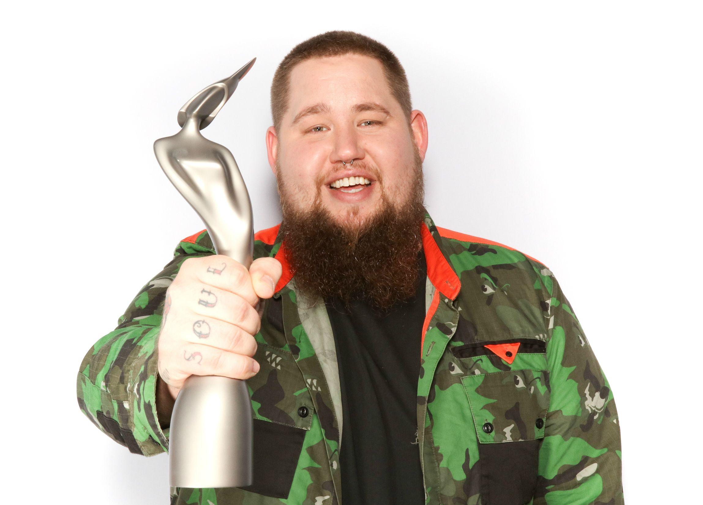 Brits Critics' Choice winner 2017 Rag'n'Bone Man