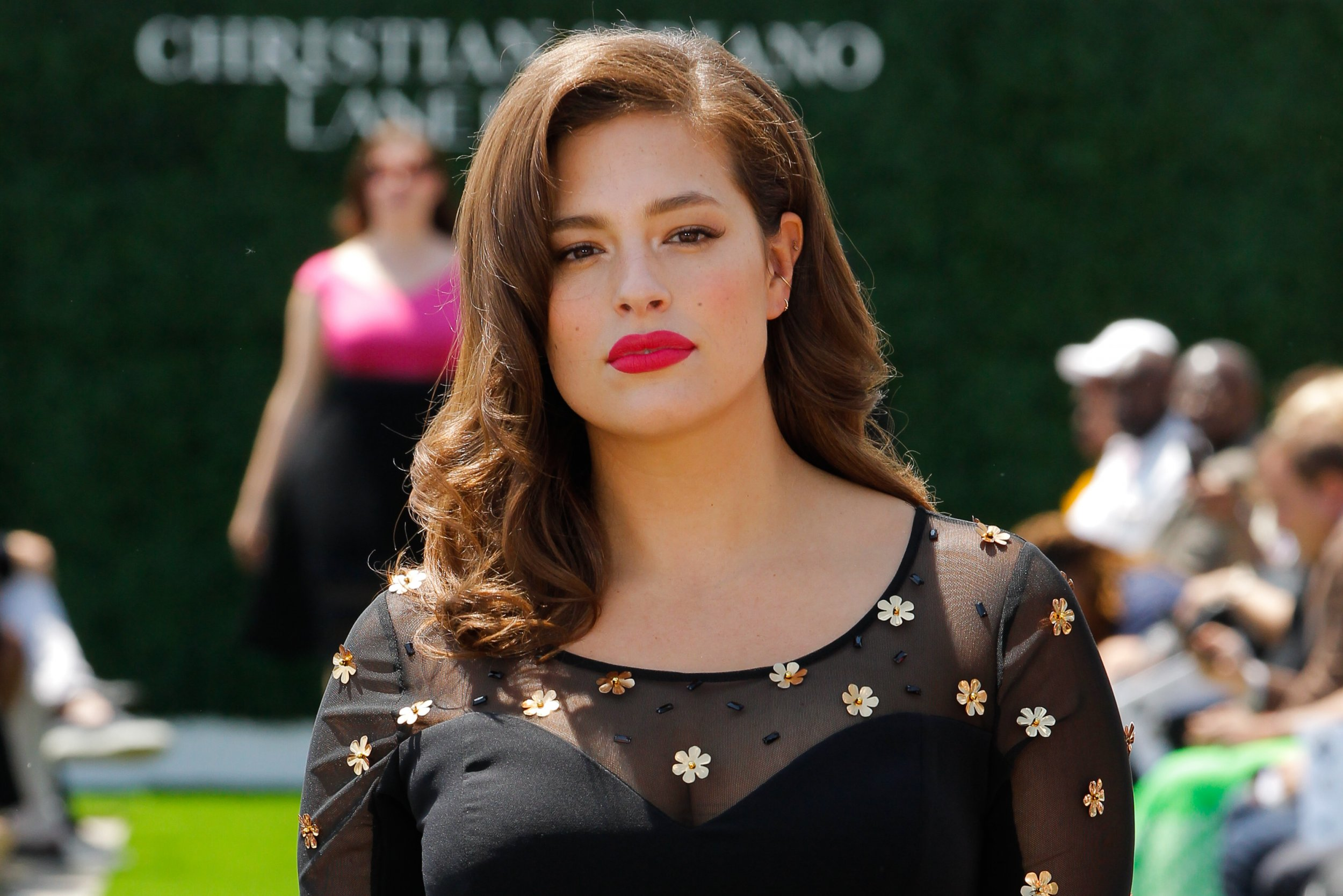 7b084b5dc86 Model Ashley Graham at the Christian Siriano X Lane Bryant Collection,  United Nations, New York, May 9. Social media is pushing fashion to rethink  its ...