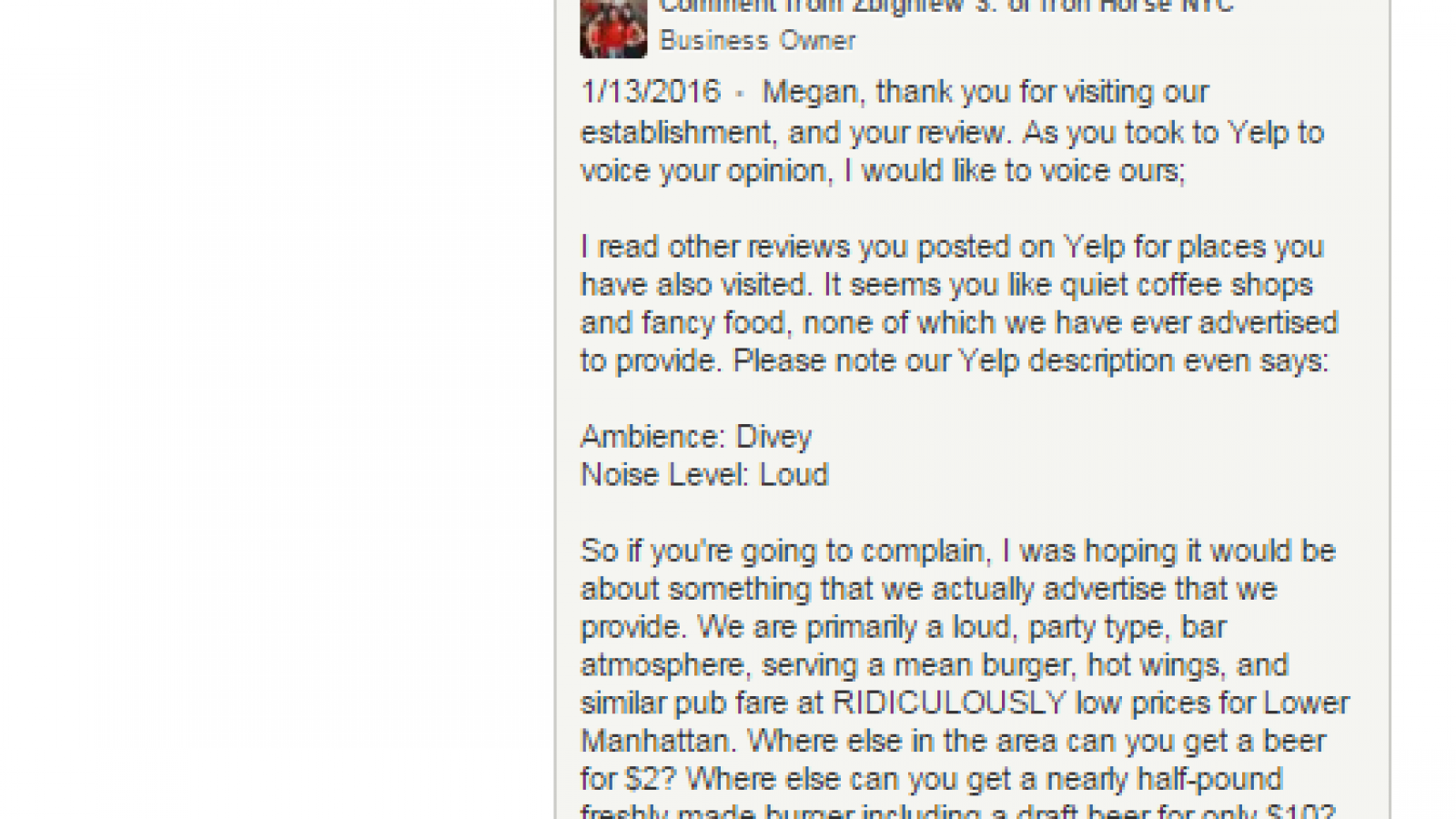 Congress Just Gave You the Right to Leave a Nasty Yelp Review