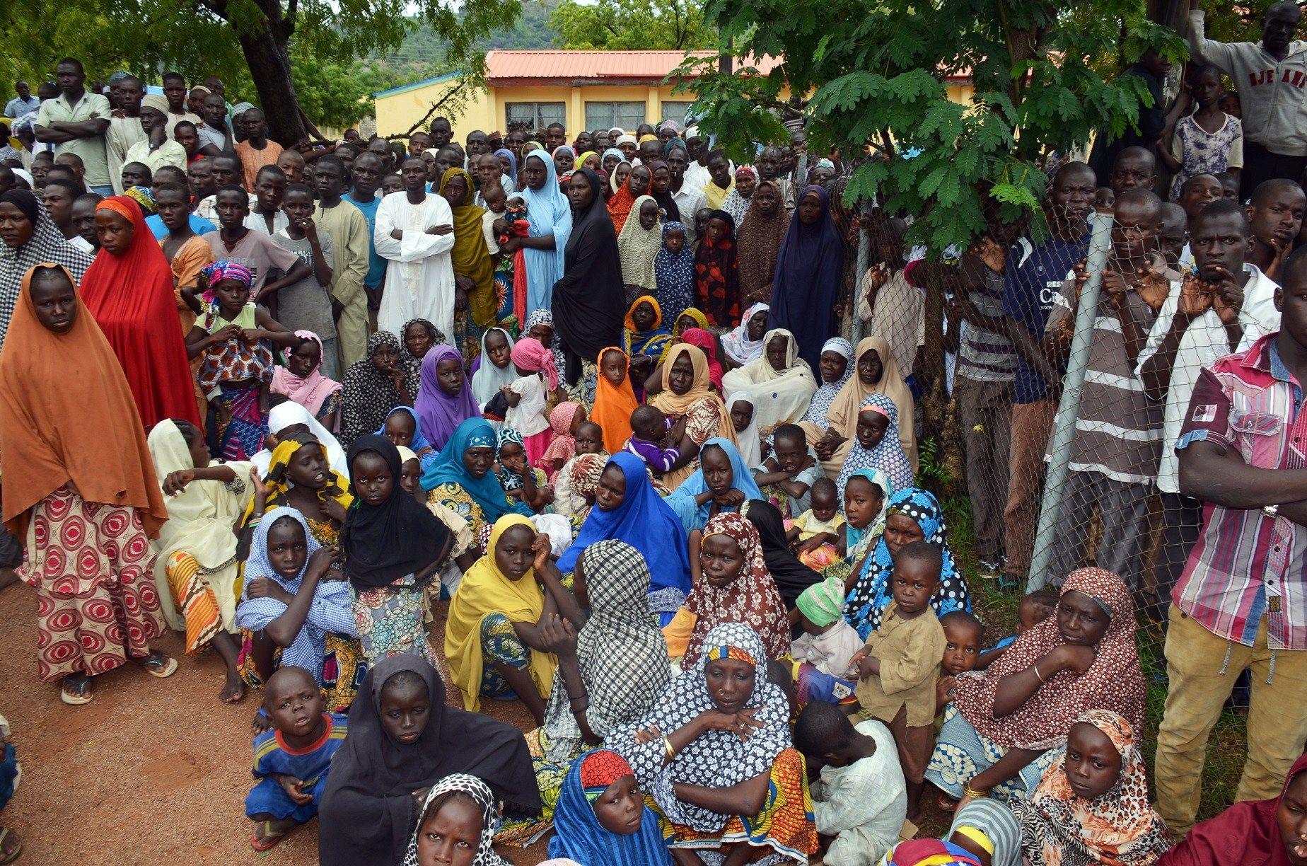 Madagali IDP camp