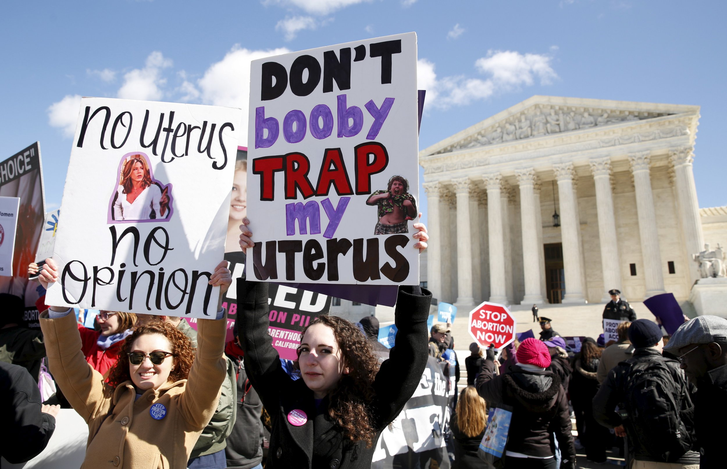 Ohio, Texas and Other Battlegrounds for Abortion Rights