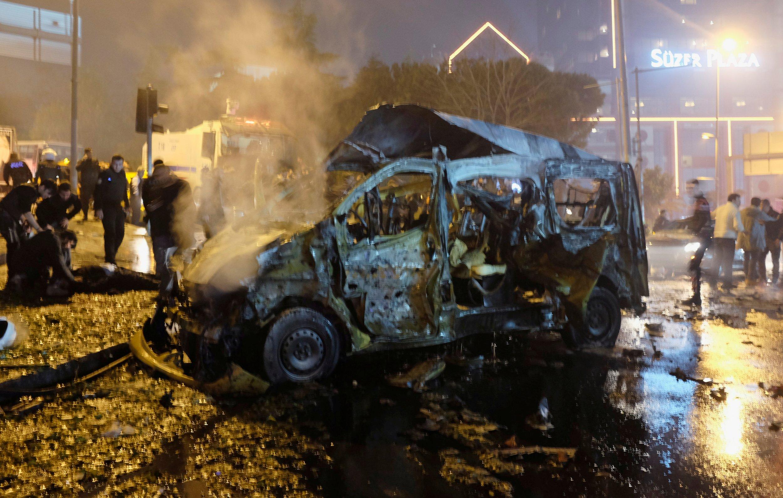 Turkey soccer bombing