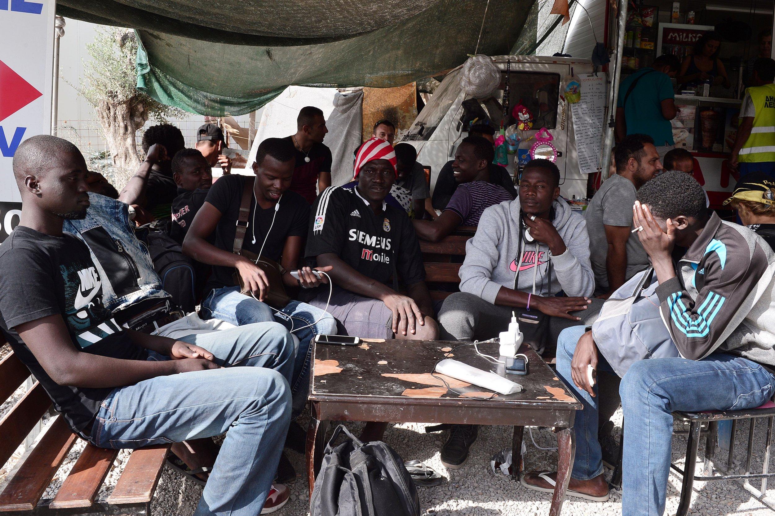 Mali migrants