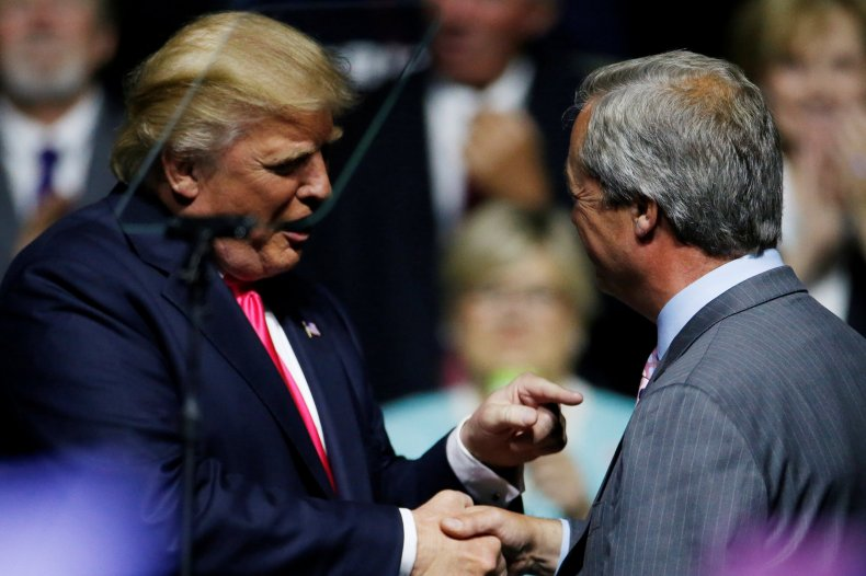 Farage and Trump