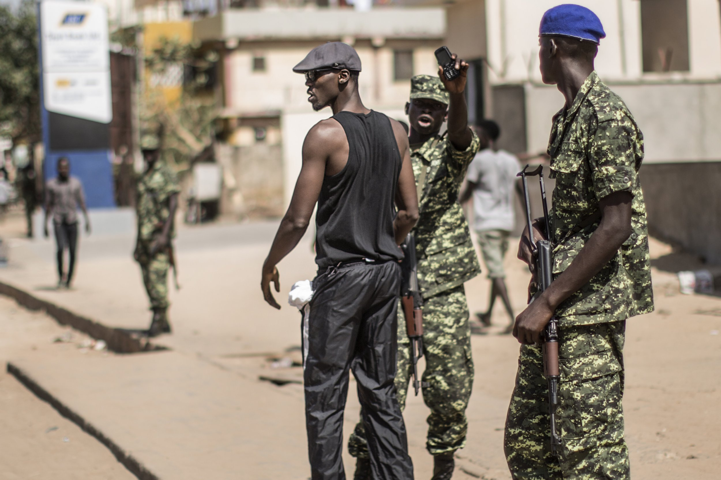 Gambia military