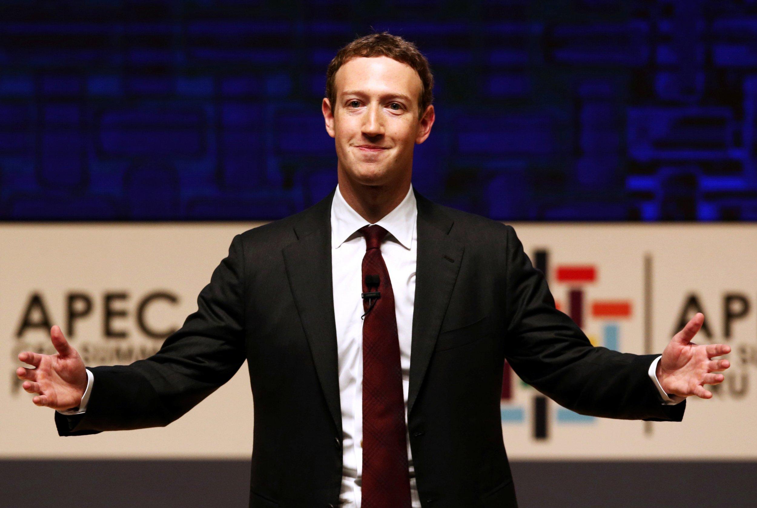 Mark Zuckerberg fake news