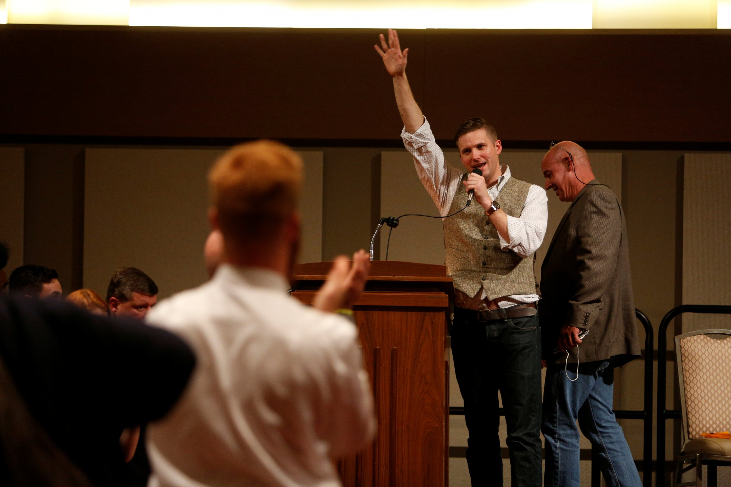 White nationalist leader Richard Spencer of the National Policy
