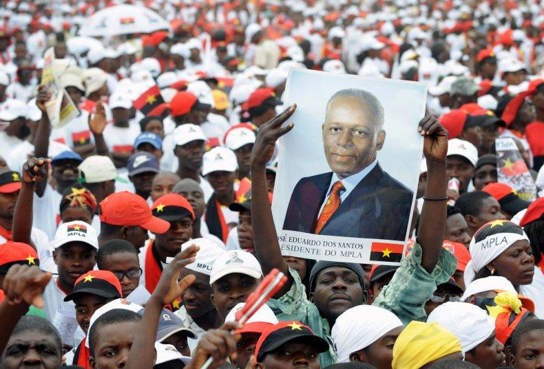 Dos Santos Angola rally