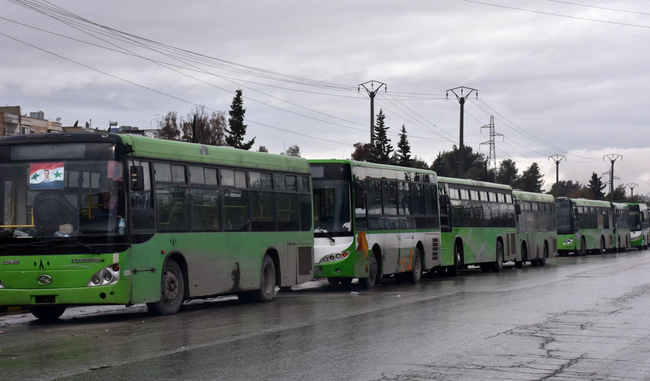 Aleppo buses
