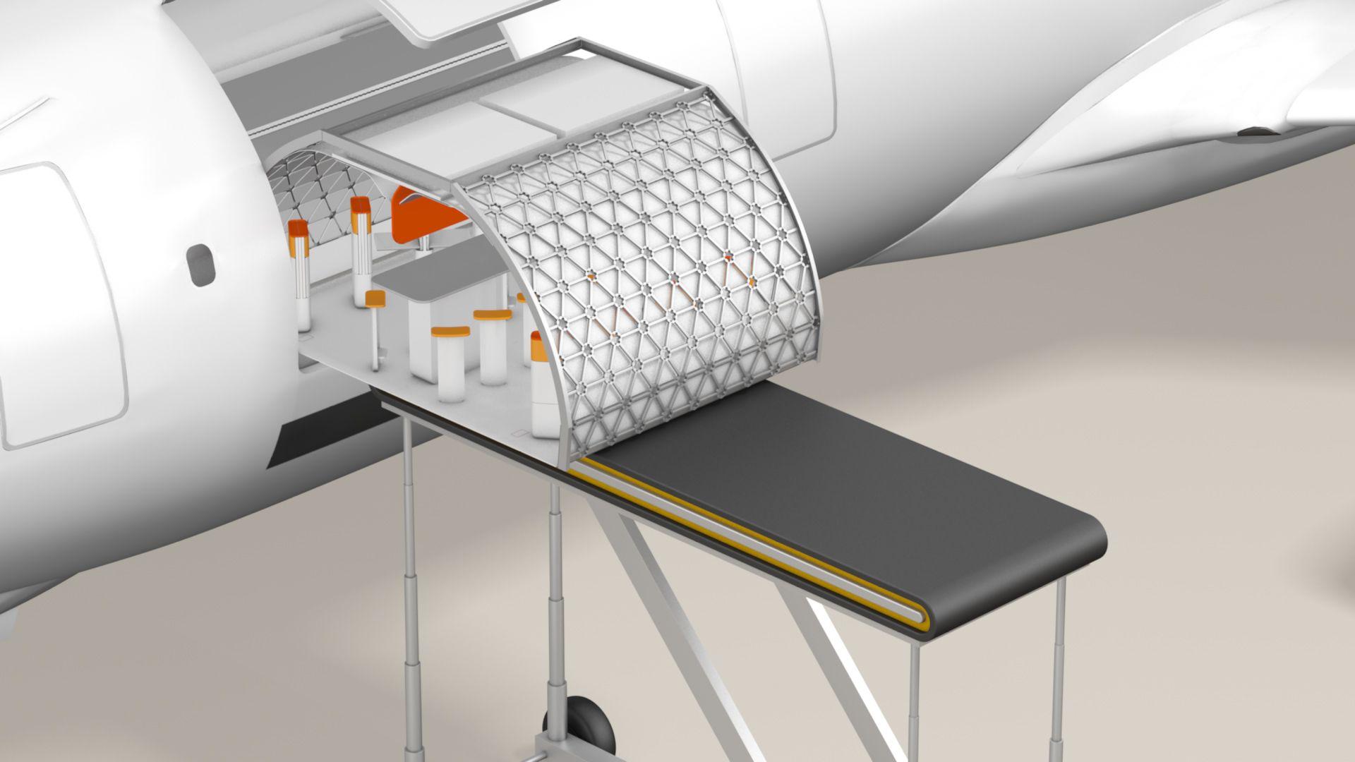 airbus a3 modular plane concept