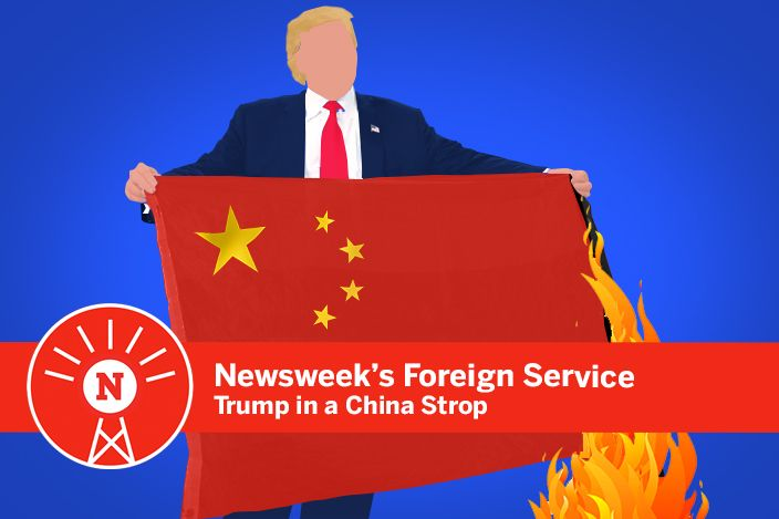 Donald Trump in a China strop