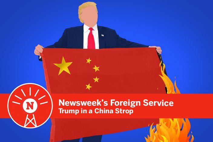 Donald Trump in a China strop