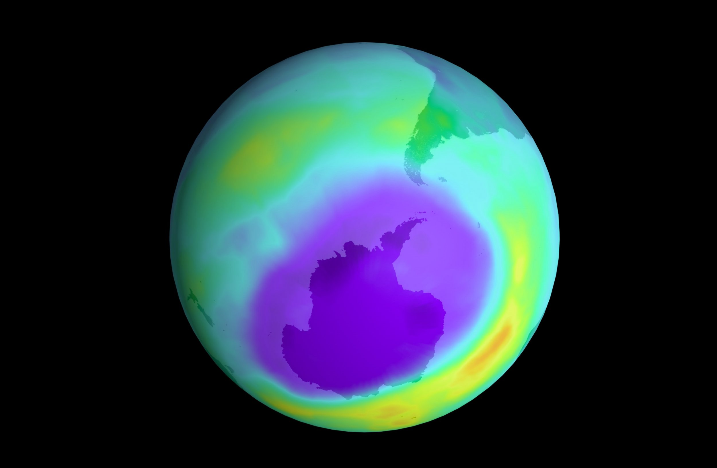 ozone layer earth aerosol repair