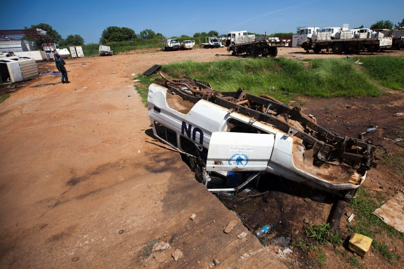 South Sudan WFP site looted
