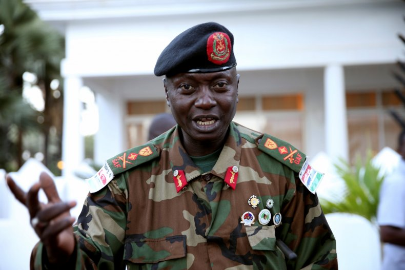 Gambian army chief
