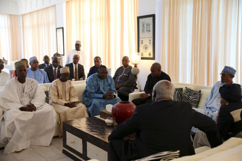 ECOWAS meeting Adama Barrow