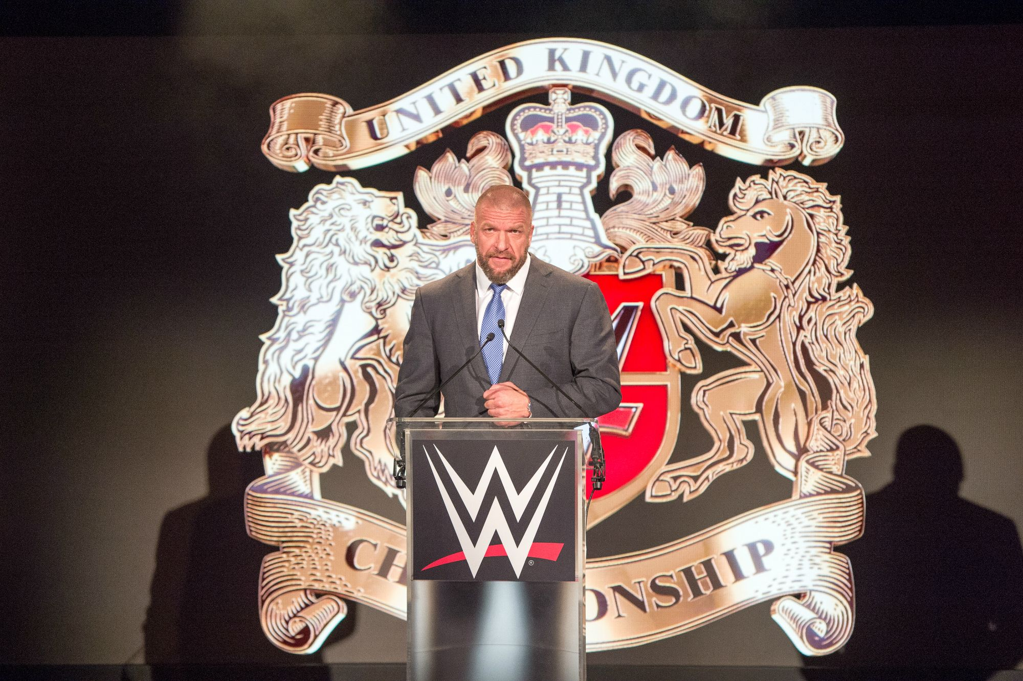 WWE's Triple H launches the United Kingdom Championship