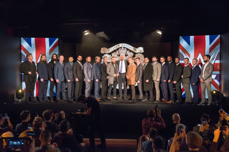 WWE United Kingdom Championship competitors