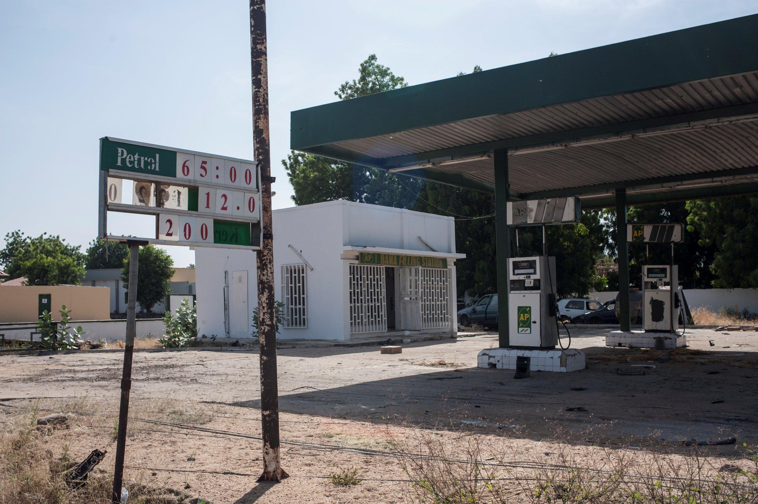 Borno petrol station