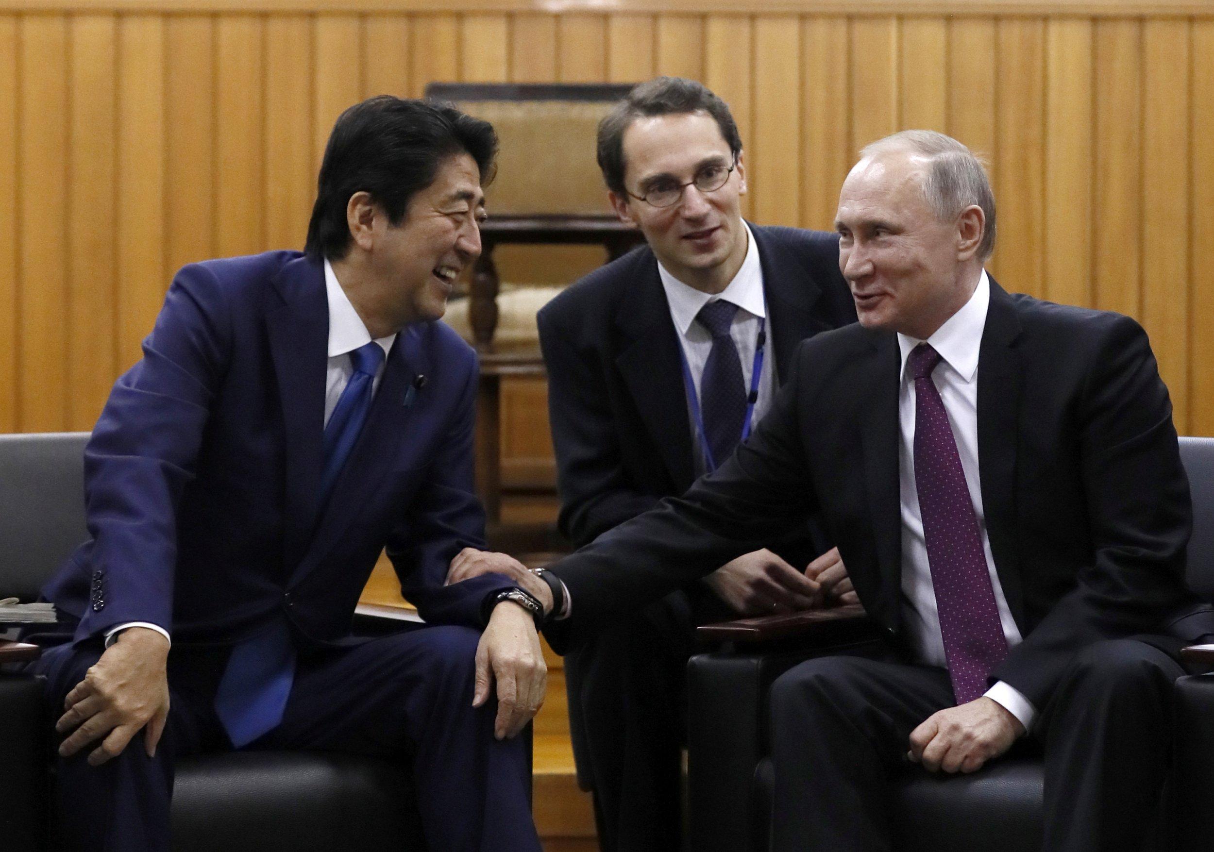 Putin Abe