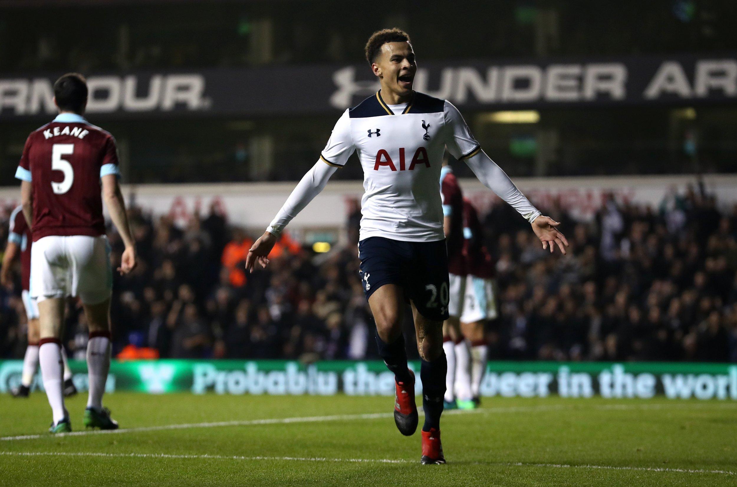 Tottenham arrache la victoire contre Burnley