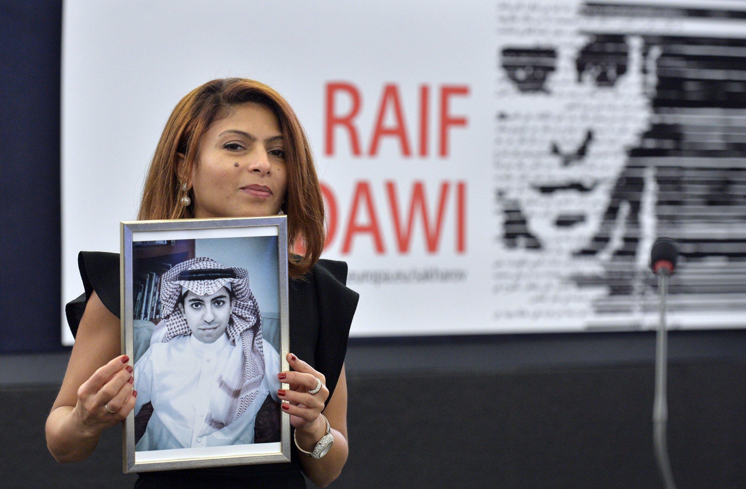 Ensaf Haidar and Raif Badawi