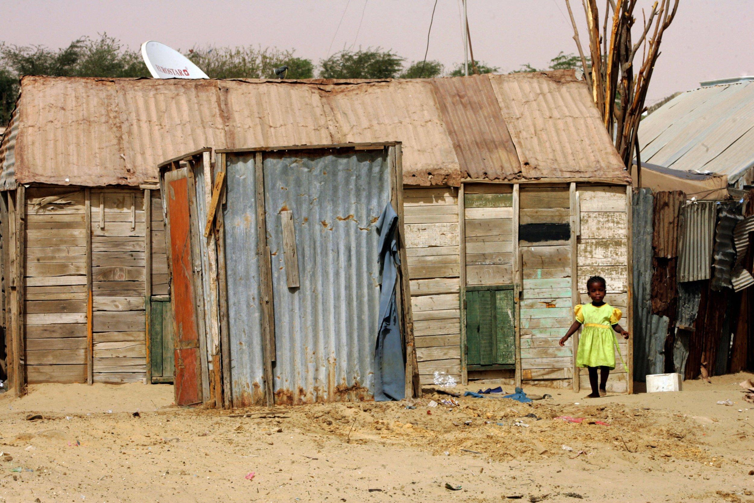 Mauritanian shack