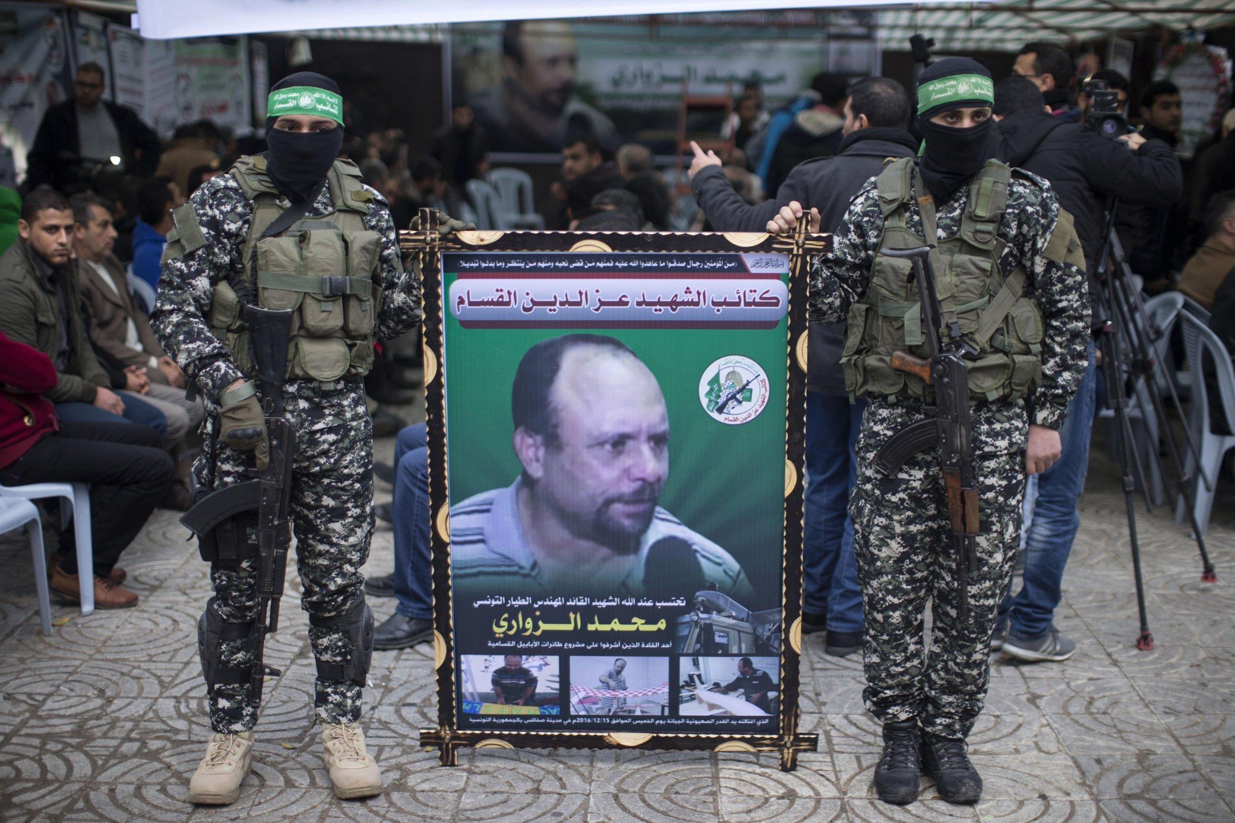 Hamas ceremony