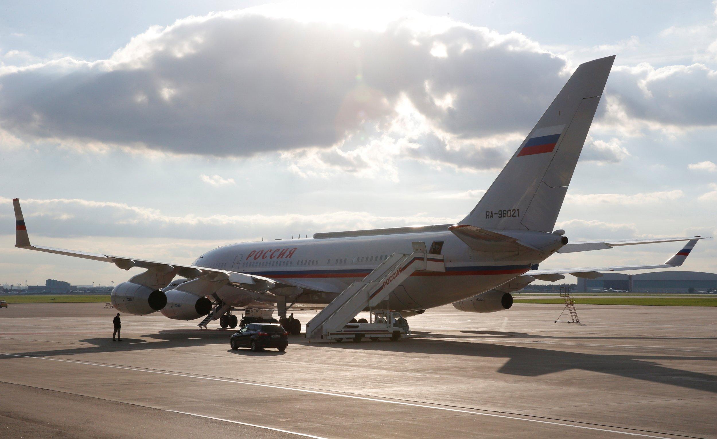 Ilyushin plane