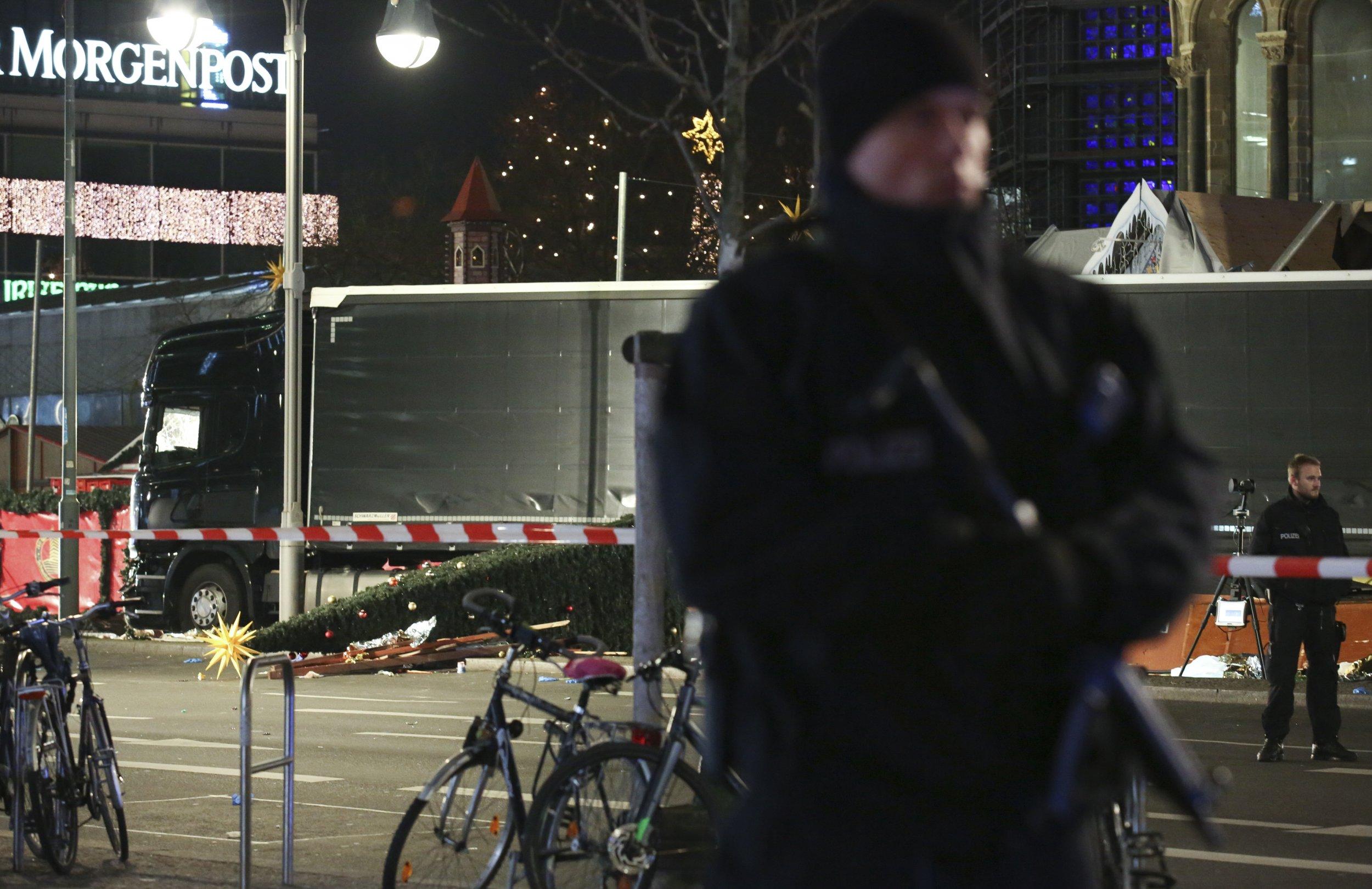 Berlin Attack German Police Investigating 39 Terror Attack