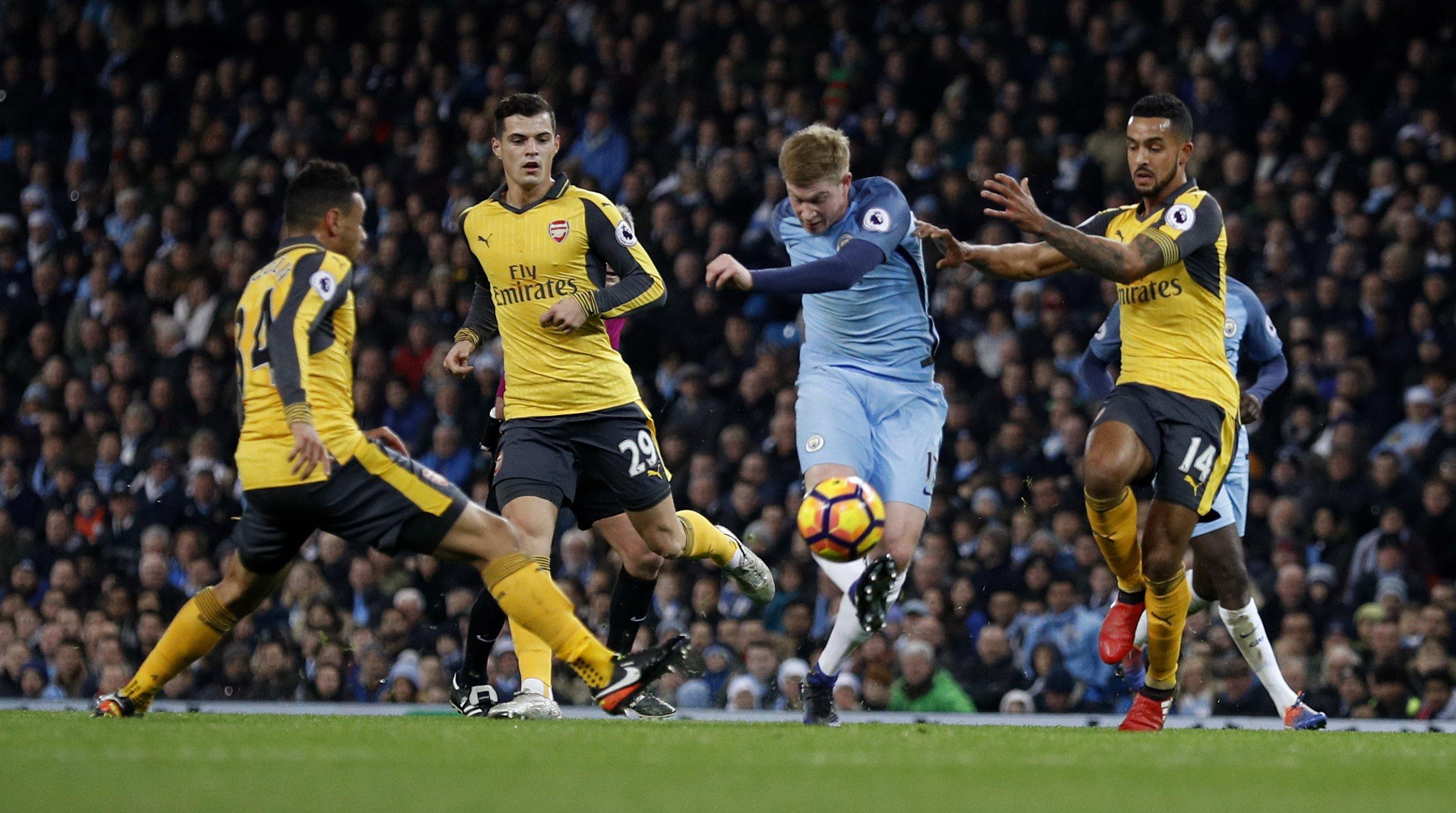 City vs Arsenal