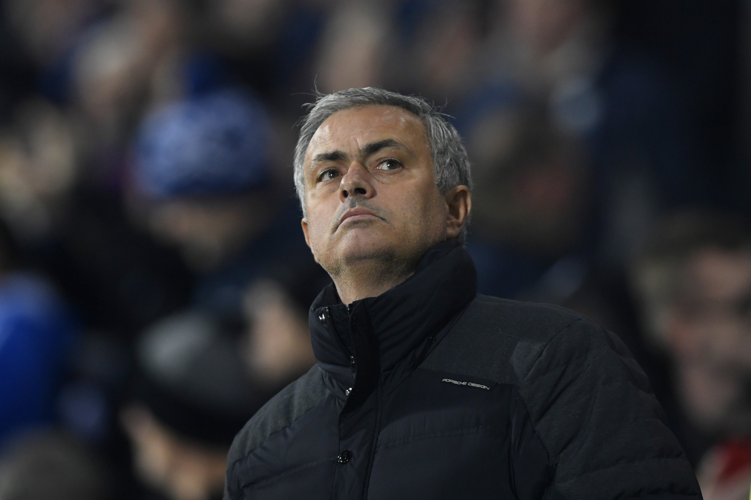 Manchester United manager Jose Mourinho at The Hawthorns, West Bromwich, December 17.